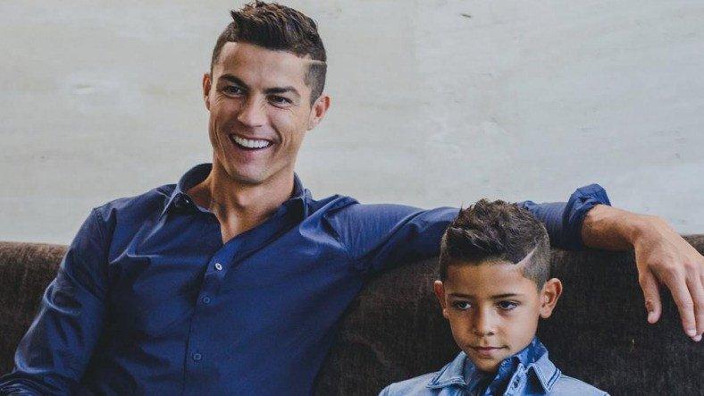 Ronaldo's son made 1 million followers on Instagram in 1 day